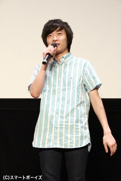 五井役のタモト清嵐さん