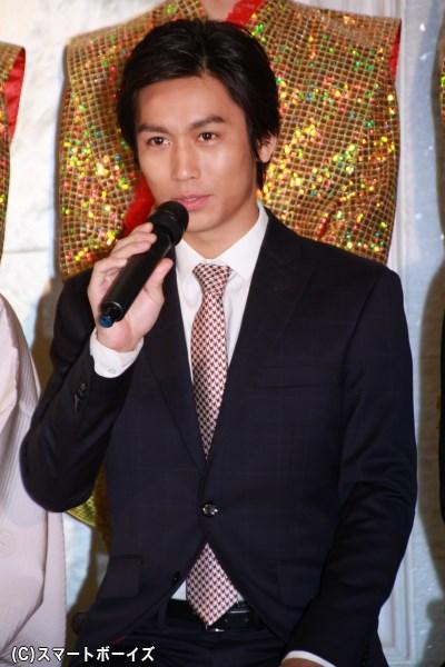 浦島太郎の友人・ムサシを演じる崎本大海さん