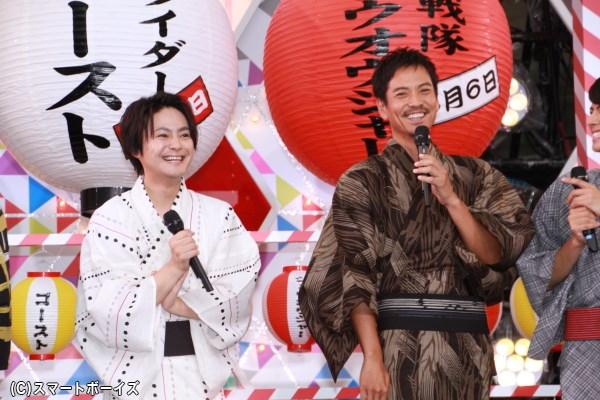 沢村さんは山本さん演じるマコトの父・深海大悟役、木村さんは磯村さん演じるアランの兄・アルゴス役でそれぞれ出演