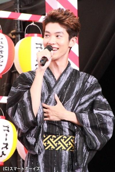 6人目の戦士として5月から出演中の國島さんは現在21歳。2013年の「ジュノン・スーパーボーイ・コンテスト」でグランプリを受賞
