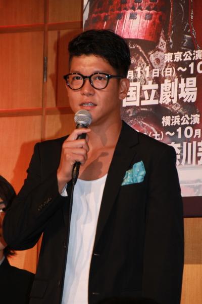 三好清海役の駿河太郎さん