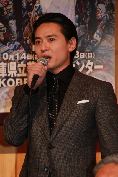 仙九郎役の石垣佑磨さん