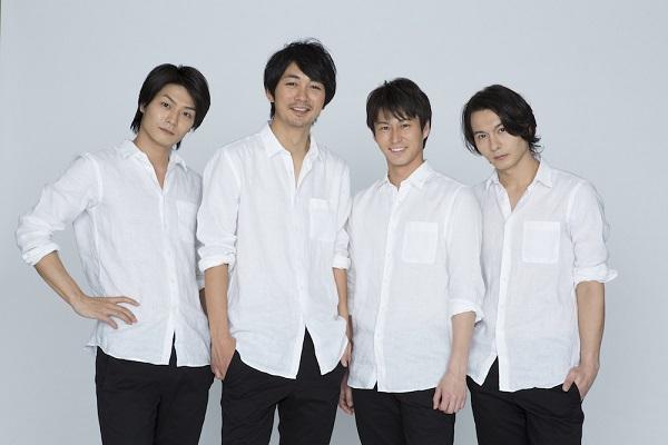 (左から)番組MCの八神蓮さん、小林且弥さん、三上真史さん、藤田玲さん
