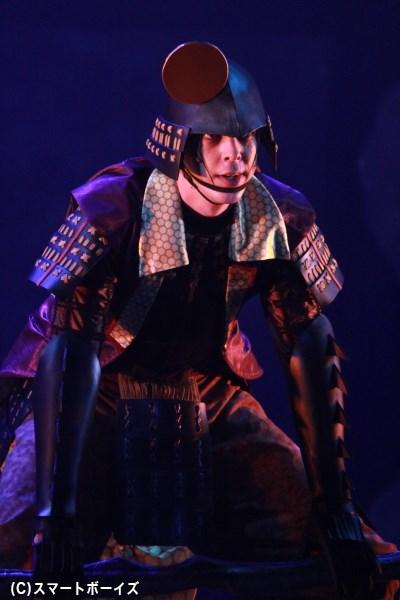 後藤又兵衛 役の汐崎アイルさん