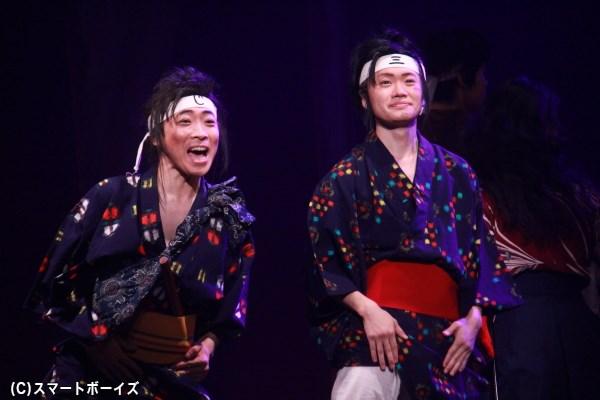 兄の次郎(堂島孝平)と、いつも二人一緒の三郎だが……。