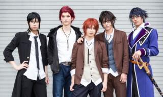 (写真左より)荒牧慶彦さん、和田雅成さん、植田圭輔さん、安西慎太郎さん、土井一海さん