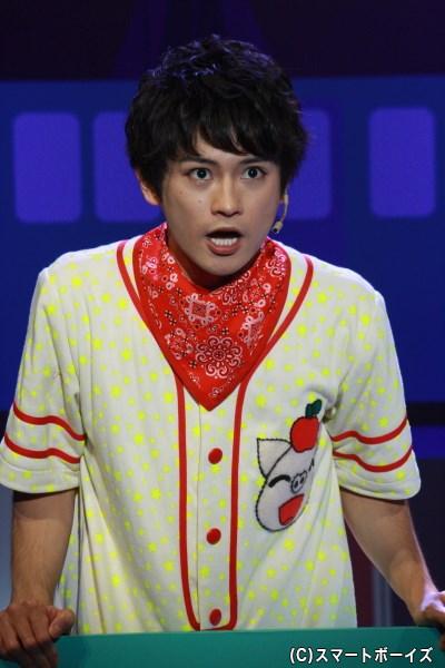 新しく保育園へとやってきた、ハムヒコこと公彦(0歳)役の原嶋元久さん