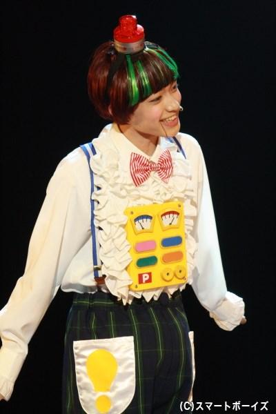 赤ちゃんたちと喋れるおもちゃ、ピカール君役の上村海成さん