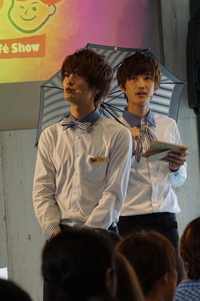 (左)堀海登さん、(右)前田大翔さん