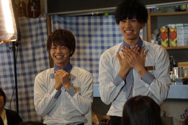 (左)福留瞬さん、(右)安孫子宏輔さん