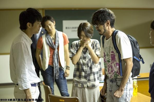 現在『仮面ライダーゴースト』のジャベル役として、屈強な男を演じている聡太郎さん(右)が、オタク役?