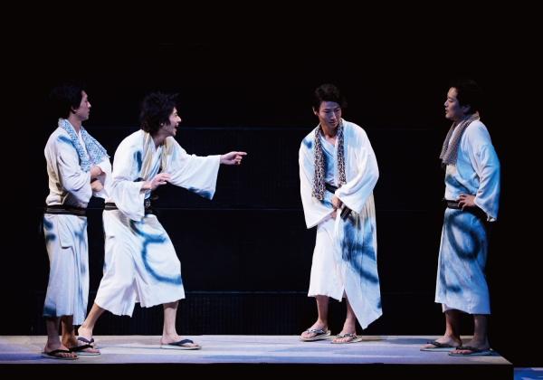 何度注意しても浴衣の裾をめくるイタズラをやめない武蔵に小次郎ブチ切れ!