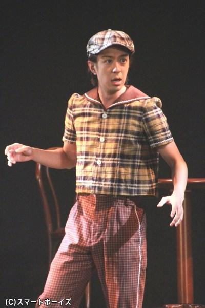 松本寛也さん演じる鏑木三四郎は、蔦屋平九郎の助手を担当
