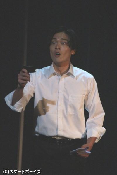 今泉公平役の横山真史さん