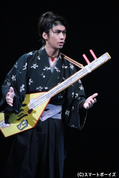 ムサシ役の崎本大海さん