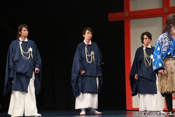 (左より)塩川渉さん、相川絢さん、桝井賢人さん
