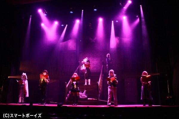 謎めいた館を舞台に描かれるサスペンスラブストーリー!