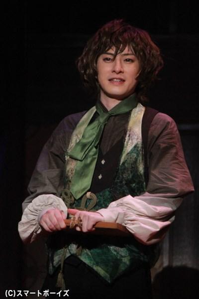 鉤翅(かぎは)役の木村 敦さん
