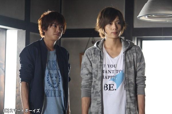 (左から)3度目のコンビ出演となる、青島役の赤澤燈さんと田宮役の染谷俊之さん