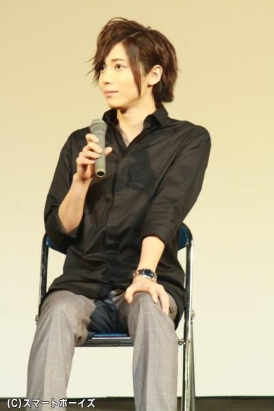 可愛らしい恋の思い出を語った、田宮治役の染谷俊之さん