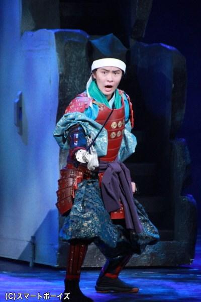 真田大助役の望月歩さん