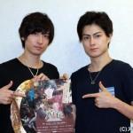 今回が2作目の共演となる松村龍之介さん(右)と山本一慶さん