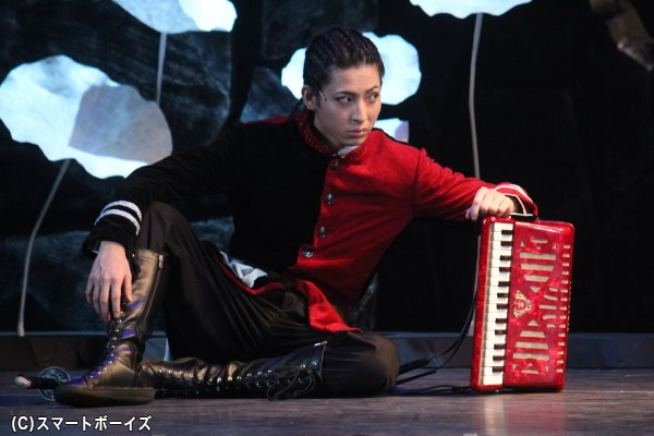 村田新八役の斉藤秀翼さん