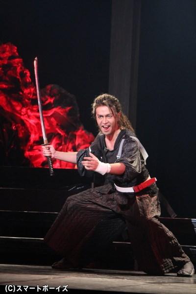 土屋佑壱さん(ガラクシャ役)「シスイとの絆や、殺陣に注目してください!」
