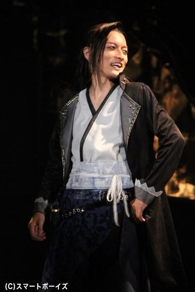 佐野大樹さん(サイガ役)「外見はチャライけど、侍の魂を持った男です!」