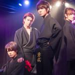 左から上杉輝(Uesugi Teru)、安里勇哉(Asato Yuya)、青木一馬(Aoki Kazuma)、騎田悠暉(Kida Yuuki)