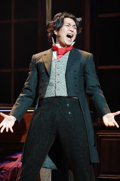 大音楽家、ベートーヴェン役に挑む大山真志さんはその美声も披露!