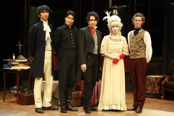 (左から)小林且弥さん、八神蓮さん、大山真志さん、鎌苅健太さん、林剛史さん