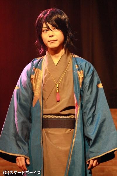 プリマヴェーラの参謀的な存在である、リチャード・舞扇役の伊藤マサミさん