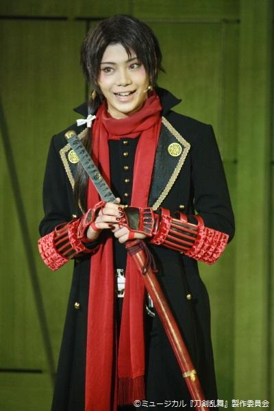 前作から引き続き出演、沖田総司が使用していた打刀とされる加州清光役の佐藤流司さん