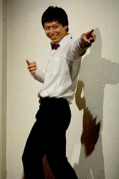 劇団の作家として、仲間からの信頼も厚い富雄役の上田悠介さん
