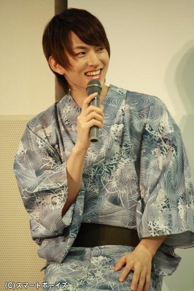 DVD撮影での裏話もポロリ! 笑顔たっぷりな和田さん