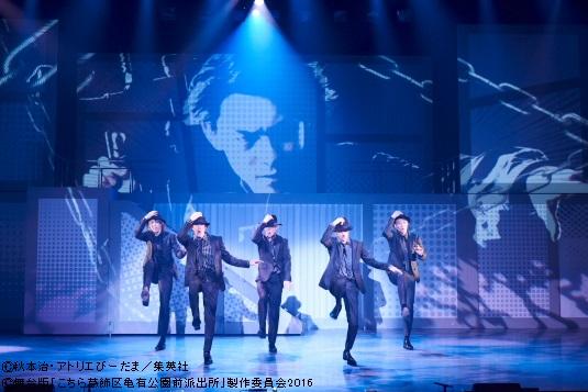 SOTを演じる北園涼さん、味方良介さん、青柳塁斗さん、章平さん、福澤侑さんはダンスシーンも!