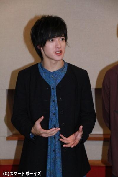 上遠野さんの魅力的な渋い声にも注目です