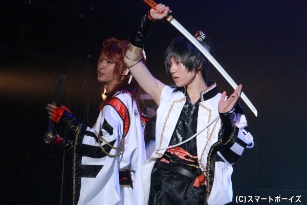 (左)葉月陽役の鷲尾修斗さん (右)卯月新役の山崎大輝さん