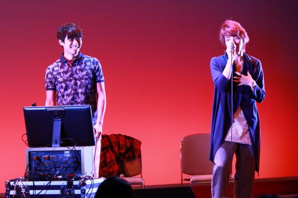 龍丸さんと早乙女さんは、見事なハーモニーで聴かせます