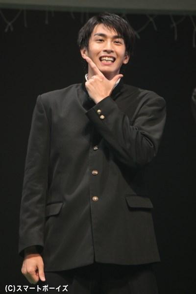 御器(ゴキ)役の市川知宏さん