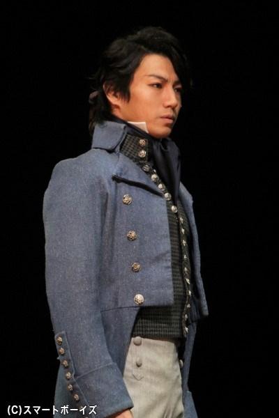 アルマン・サン・ジュスト役の矢崎広さん