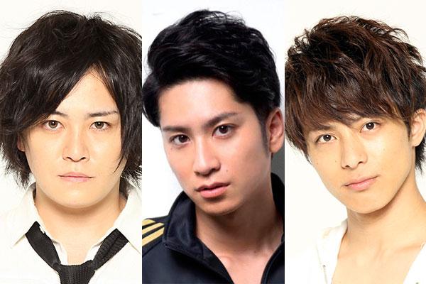 (左から)宮下雄也さん、滝口幸広さん、米原幸佑さん