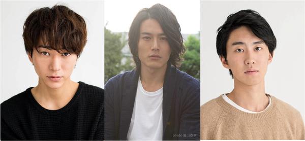 (左から)10/30放送分に登場の浅香航大さん、蕨野友也さん、小園凌央さん