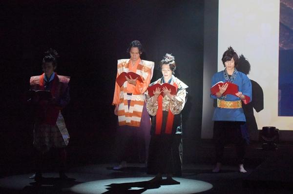 シリーズ第2弾「幻の城~戦国の美しき狂気~」の主要キャスト4人による朗読劇