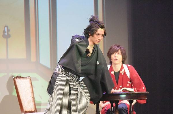 佐々木小次郎とは打って変わって、勇ましい姿の坂本龍馬を演じた鈴木さん