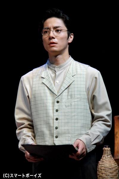 才能にあふれる若き天才、瀧廉太郎を演じる和田琢磨さん
