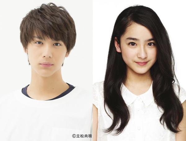(左から)海崎新太役の中川大志さん、日代千鶴役の平祐奈さん