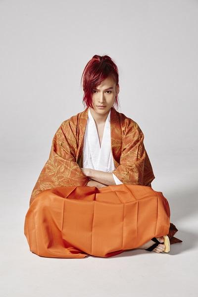 松本大志さんが演じる、武田信玄の衣装ビジュアル