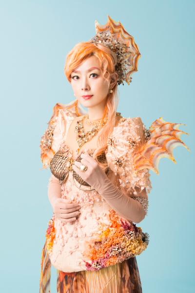 秋本奈緒美as ジュジュ ラグーナ王国の王女でカサゴ。ポセイドンの三番目の妻。美のカリスマ。